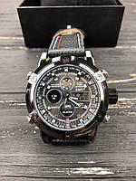 Наручные часы AMST Stitching Black