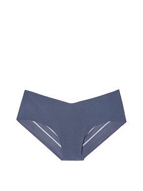 Victoria's Secret бесшовные трусики оригинал Hiphugger Panty L синие