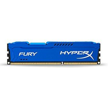 "Оперативная память Kingston HyperX FURY Blue DDR3 4GB 1600MHz DIMM (HX316C10F/4) ""Over-Stock"" Б/У"