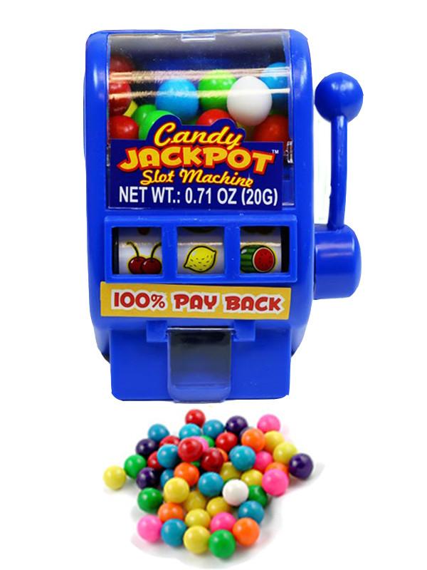 """Kidsmania Candy Jackpot Необычные конфеты """"Джекпот"""" игровой автомат диспансер (синий)"""