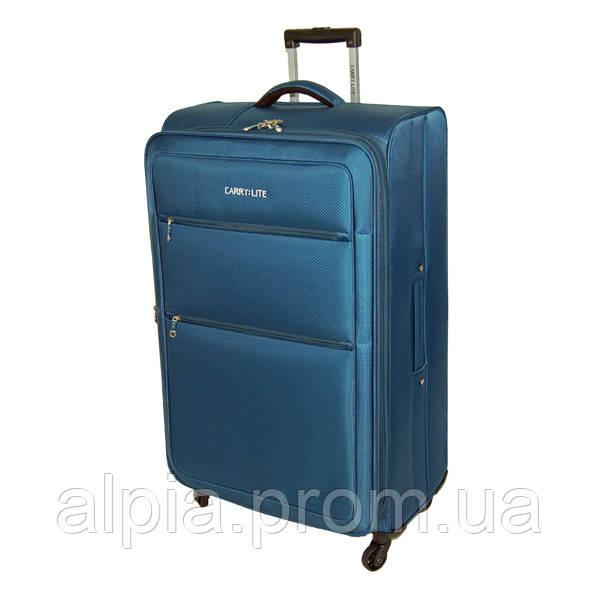 Чемодан Carry:Lite Diamond Blue (L)