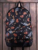 Рюкзак (с отделением для ноутбука 17″) Staff - Print 27 L Art. CBS0042 (чёрный)