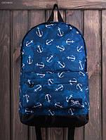Рюкзак (с отделением для ноутбука 17″) Staff - Print 27 L Art. CBS0044 (синий)