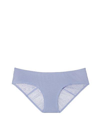 Victoria's Secret  трусики кружевные M лаванда оригинал