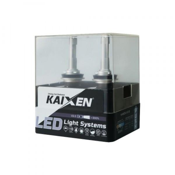 Kaixen LED ЛАМПА KAIXEN HB3 (9005) V2.0 (2 шт.)