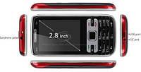 """Мобильный телефон DONOD N10 KEEPON (сенсорный 2,8"""" экран 2 сим карты +Тв + чехол"""