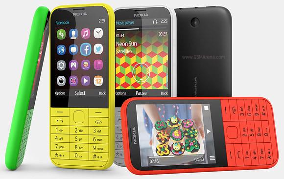 """Мобильный телефон Nokia Duos 225 на 2 сим-карты яркий 2,8"""" экран"""