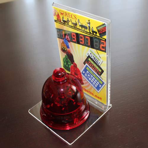 Подставка для кнопки вызова официанта R22 (прозрачная)
