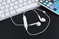 Блютуз бездротові навушники S6 4.1 в білому кольорі! Стерео бездротова гарнітура!, фото 1