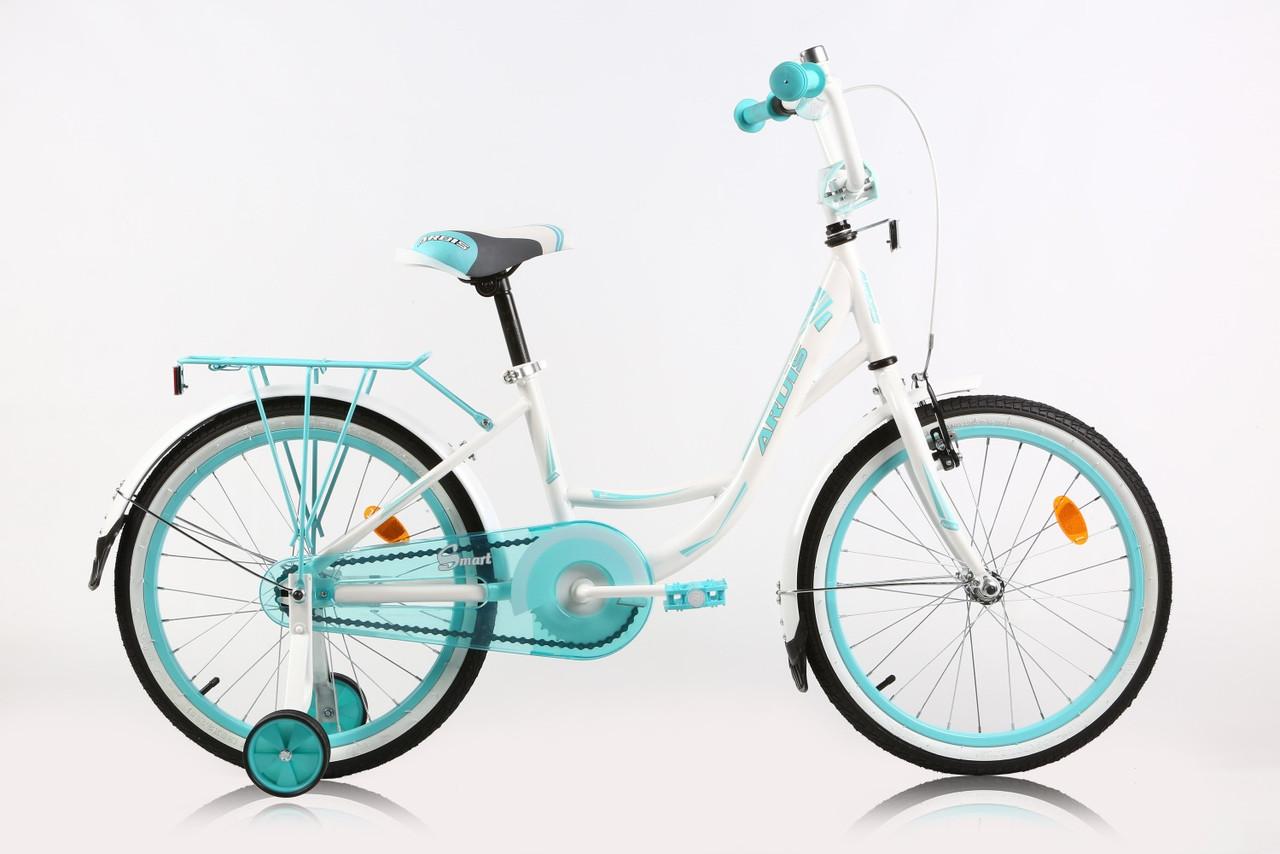 """Детский велосипед ARDIS SMART 20""""  Белый/Голубой"""