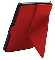 """Обложка - чехол для электронной книги Amazon Kindle E-reader 6"""" (8-го Поколения 2016) Smart Origami Красный"""