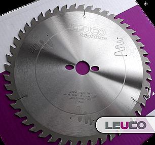 Универсальная дисковая пила Leuco для торцовки и продольного раскроя массива (дерева) 300x3,2x2,2x30 Z=48, фото 2