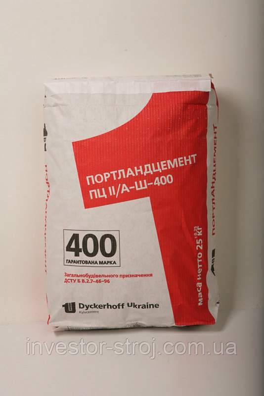 цемент- качество 400
