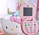 Hello Kitty T99 раскладной телефон для девочек 1 сим-карта, фото 6