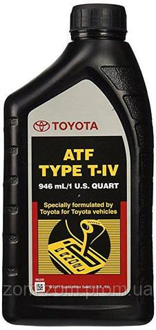 Масло трансмисионное Toyota Toyota ATF T-IV 00279-000T4