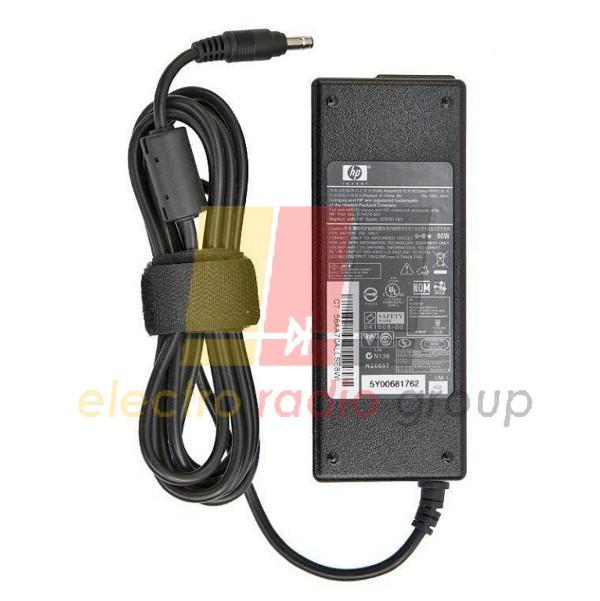 Блок питания для ноутбукa HP 19V 4.74A (90 Вт) штекер 7.4*5.0мм, длина 0,9м + кабель питания