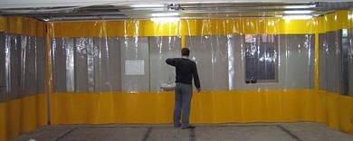 Влагостойкие шторы из армированного ПВХ для автомоек, складов, покрасочных цехов и автосервисов