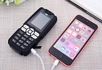 Противоударный телефон LAND ROVER A8+ на 2 сим-карты с Большой батареей 18000Mah Power Bank