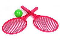 """Набор для тенниса ТехноК""  розовый арт. 0373 (42×18×7.5 см)"
