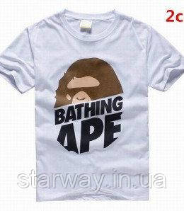 Футболка A Bathing Ape logo | Стильная