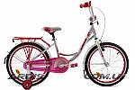 """Детский велосипед ARDIS SMART 20"""" Белый/Розовый"""
