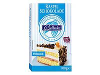 Посыпка кондитерская Belbake Raspel Schokolade  Vollmilch 100g