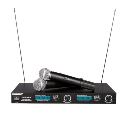Радиосистема SHURE UHF LX 88 III, 2 беспроводных микрофона в кейсе