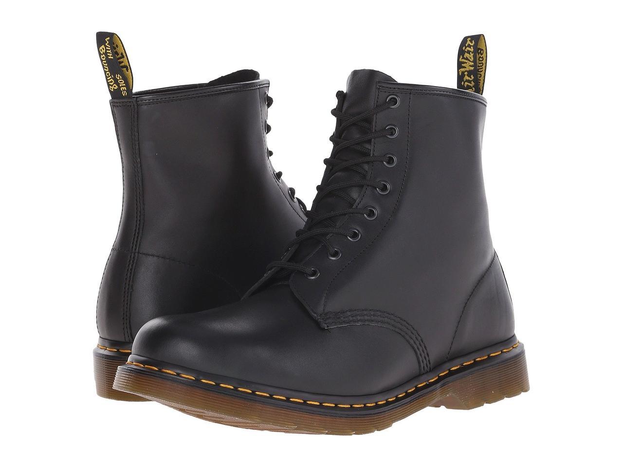 5244e5db Ботинки/Сапоги (Оригинал) Dr. Martens 1460 Black Nappa Leather - TopUSA