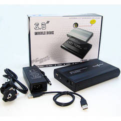 "BT-S354 3.5-inch USB External Hard Drive Enclosure Type (SATA Type) ""Over-Stock"""