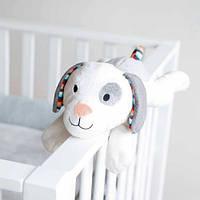 Музыкальная мягкая игрушка Zazu Собачка Dex с белым шумом