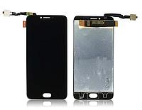 Оригинальный дисплей (модуль) + тачскрин (сенсор) для UmiDigi C Note 2 (черный цвет)