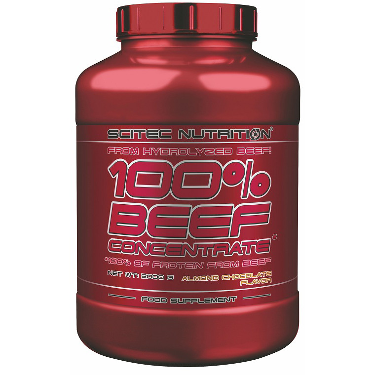 Протеин Scitec Nutrition 100% Beef Concentrate 2 kg