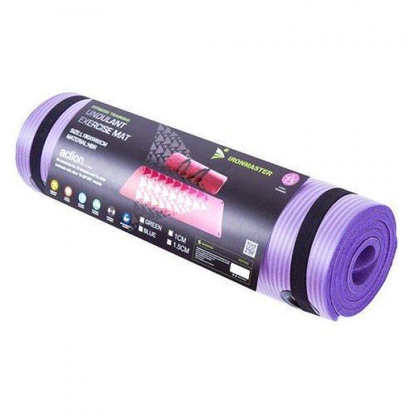 269add652b71 Коврик-Мат для йоги и фитнеса из вспененного каучука 180х60х1см Ironmaster  (IR97506)