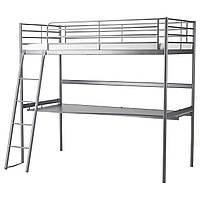 Двухъярусная кровать IKEA Svarte