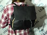 Женский портфель- сумка Черного цвета для повседневной носки