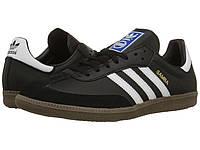 Кроссовки/Кеды (Оригинал) adidas Originals Samba® Leather Black/White