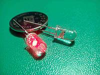 Светодиод мигающий красный  5 мм 1,5 Гц, фото 1