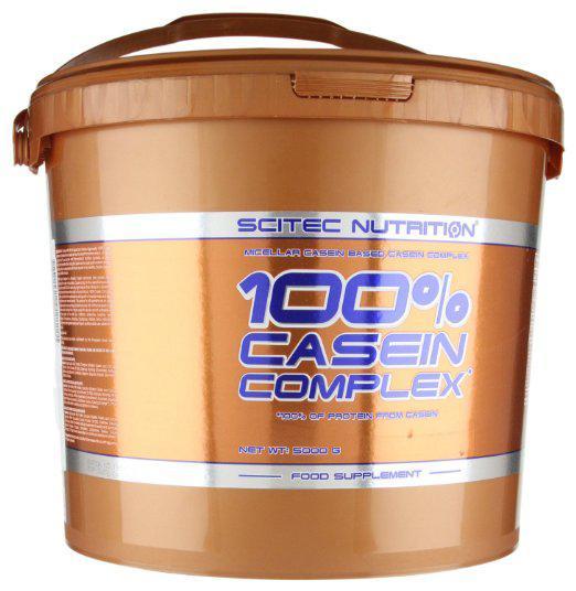 Протеин Scitec Nutrition 100% Casein Complex 5 kg