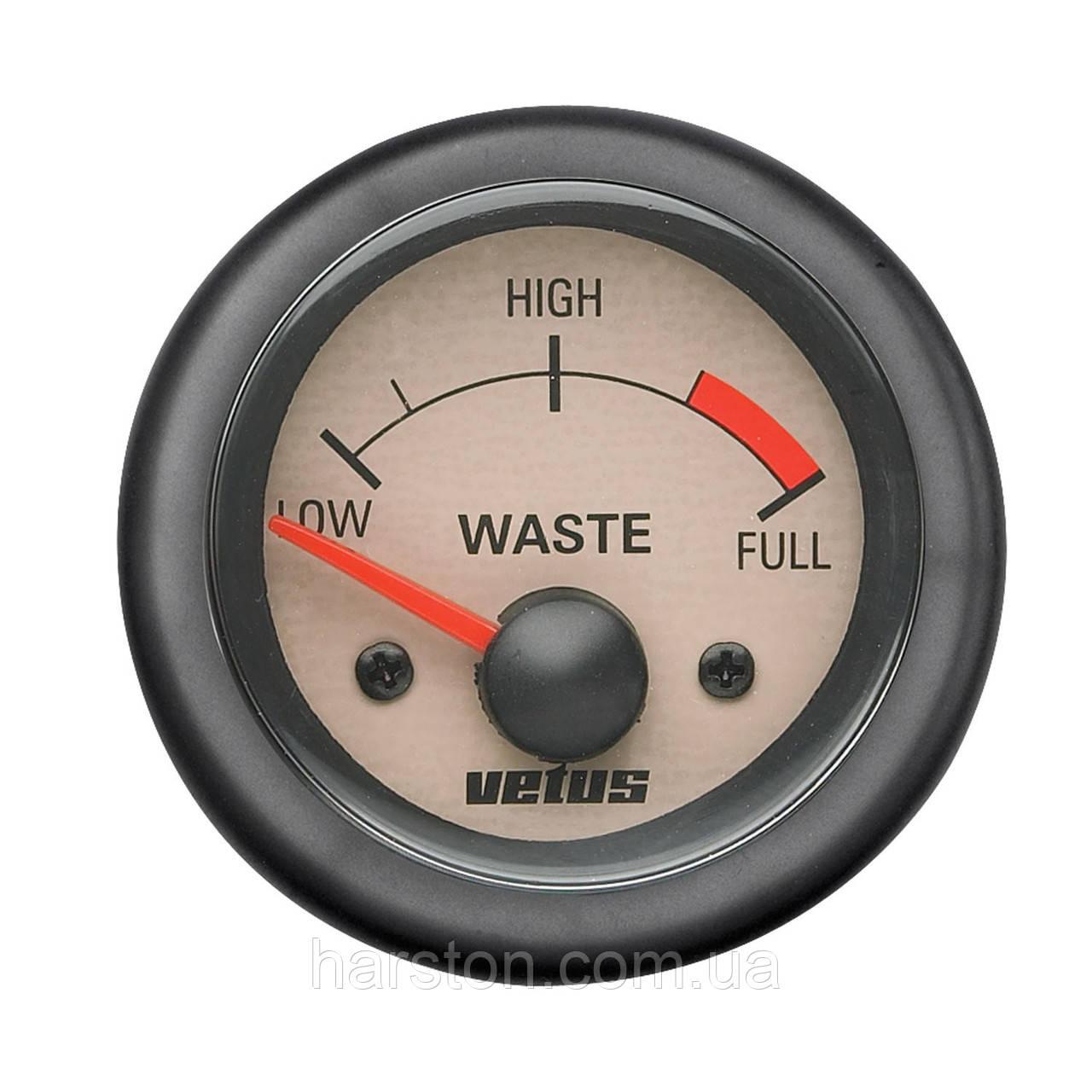 Датчик сточных вод VETUS WASTE12W (WASTE24W)