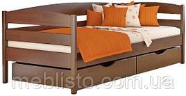 Односпальне ліжко дерев'яна Нота плюс