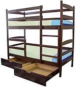 Двоярусне ліжко Дует Вільха