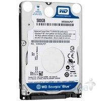 Жесткий диск для ноутбука Western Digital 500Gb 8Mb 5400RPM (WD5000LPVT) SATA II