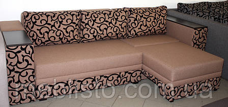 Кутовий диван ліжко Бостон-4 з міні-баром та нішею, Кутовий диван, розкладний диван,, фото 2
