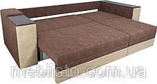 Кутовий диван ліжко Бостон-4 з міні-баром та нішею, Кутовий диван, розкладний диван,, фото 3