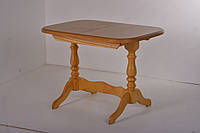 Стол деревянный Аврора на 2 ногах ( натуральный  )