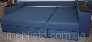 Угловой диван Лондон  с мини баром и нишей на еврокнижке, фото 2