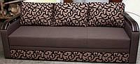 Диван Сити 4 еврокнижка с деревянной накладкой,диваны и кресла,диван  Киев, Днепропетровск, Винница