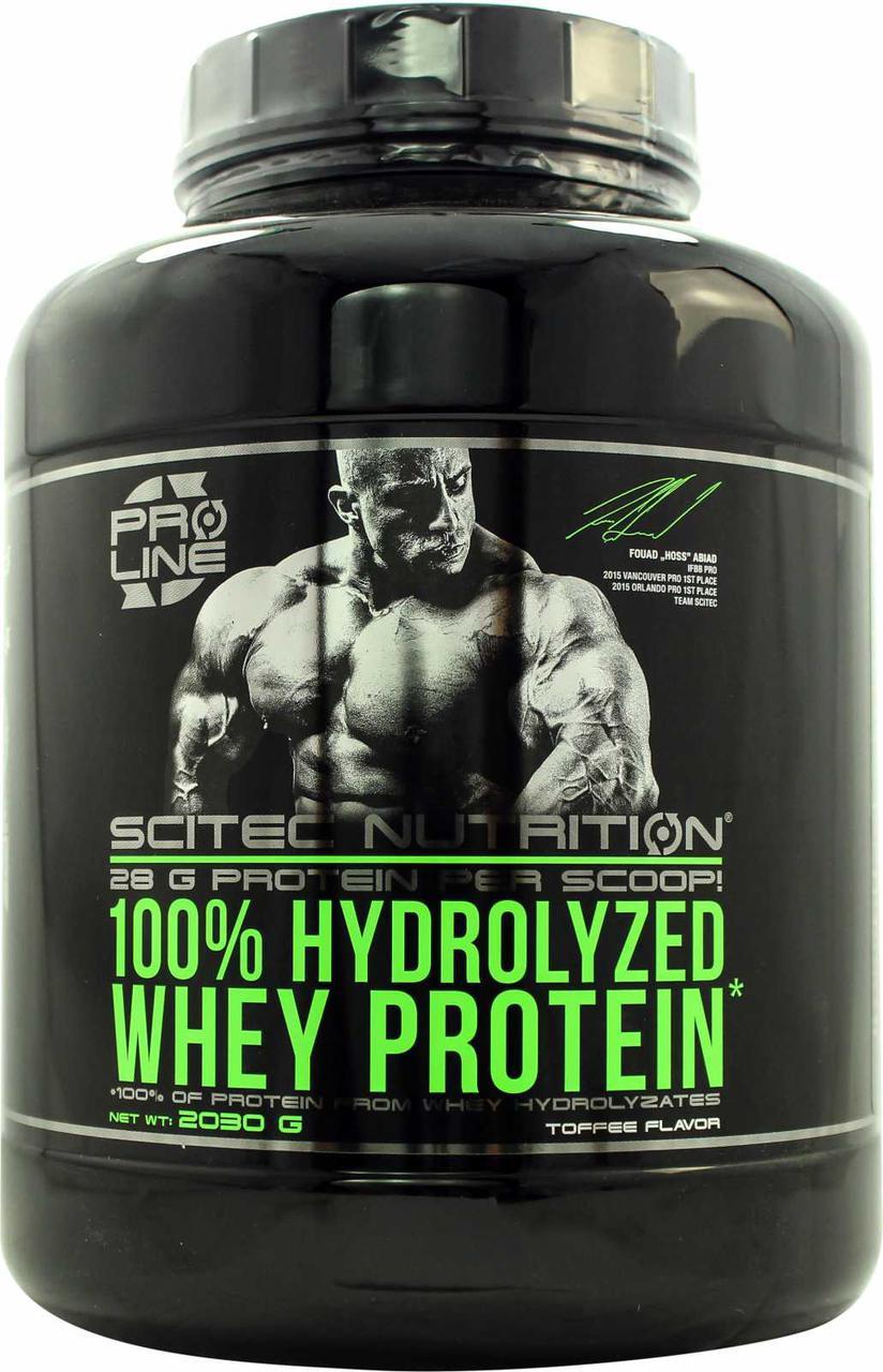 Протеин Scitec Nutrition 100% Hydrolyzed Whey Protein 2,03 kg