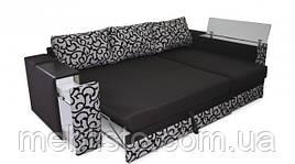 Угловой диван  Сигма люкс с мини баром и нишей
