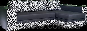 Угловой диван  Сигма люкс с мини баром и нишей, фото 2